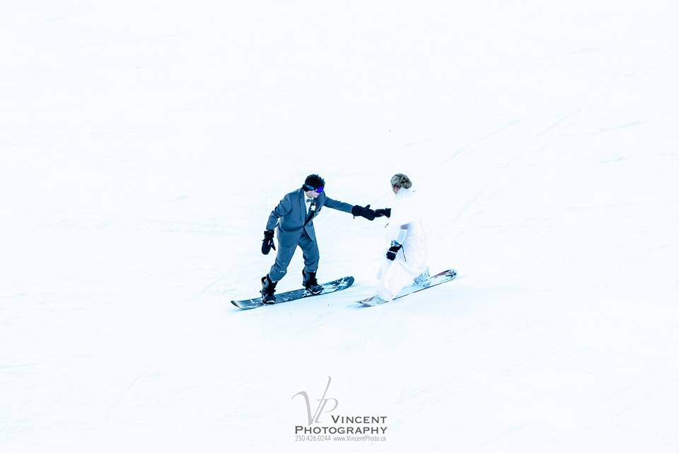 Winter Weddings at Kimberley Alpine Resort