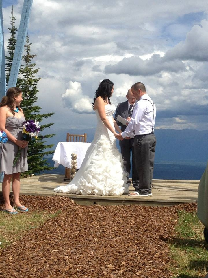 Wedding Ceremony at the Top of the Northstar Mountain